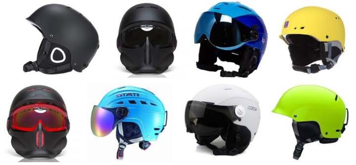8 шлемов для сноубординга
