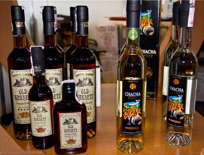Грузинские крепкие напитки