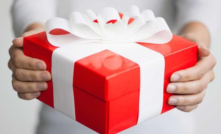 Дарим подарок