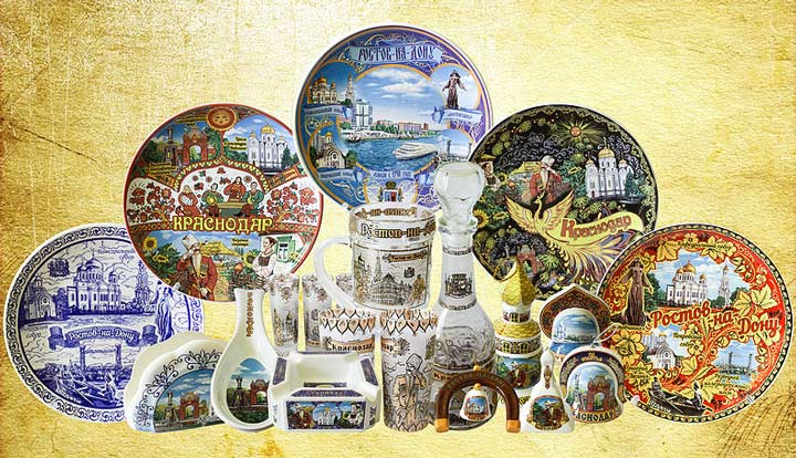 Краснодарские сувениры