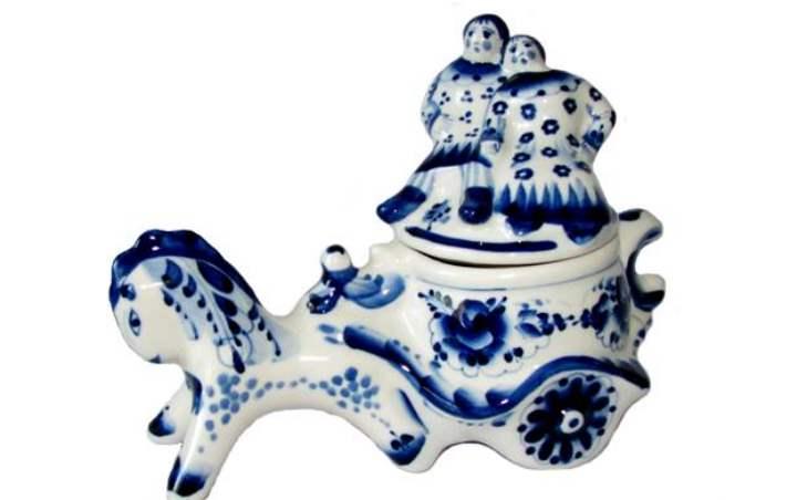 Сувенир из Гжели