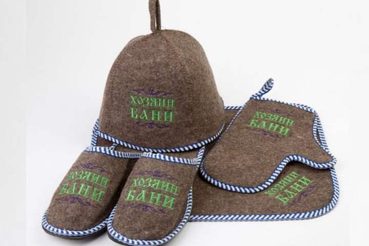 Войлочные шапки и тапки