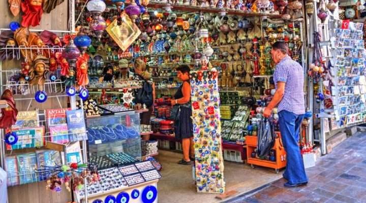 Сувенирная лавка в Турции