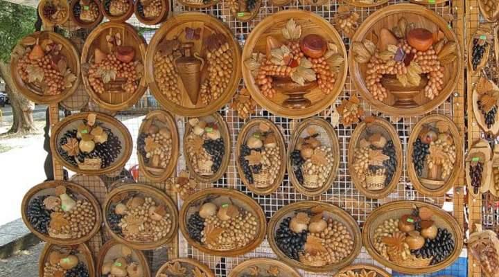 Деревянный сувенир из Анапы