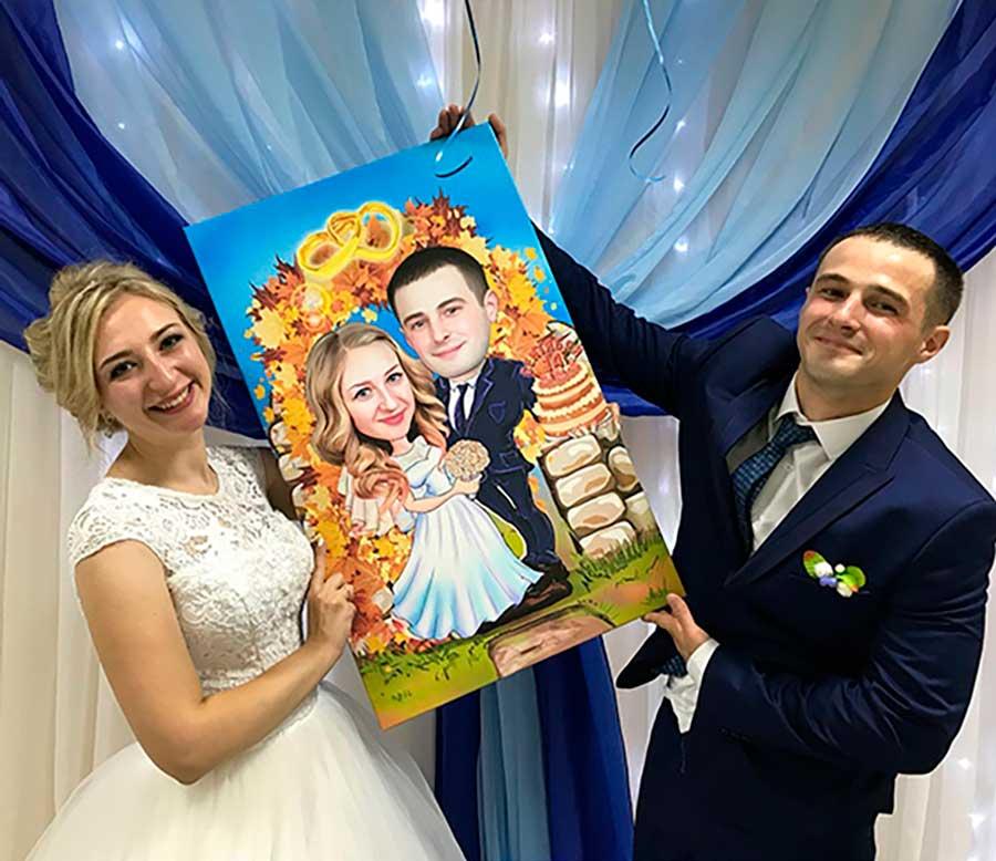 на свадьбу подарок для молодожен